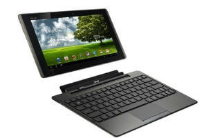 Review: Asus Eee Pad tablet transforms into laptop