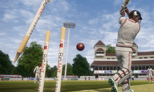 bowled_don_bradman_cricket_big_ant.jpg - Don Bradman Cricket Review: