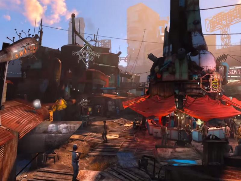 diamond_city_fallout_4.jpg - Fallout 4 Review