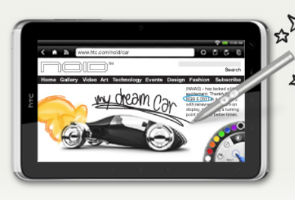 Review: HTC Flyer tablet mates with slippery pen 2