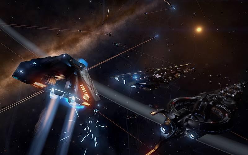 galaxy1_elite_dangerous_frontier_developments.jpg - Elite: Dangerous Review - Lost In Space