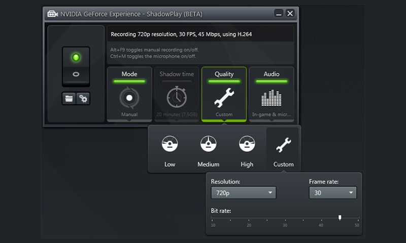 geforce-experience-shadowplay-screenshot.jpg - How To Record PC Games With GeForce Experience