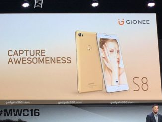 Gionee S8 With '3D Touch' Display, 'Dual WhatsApp' Launched at MWC 2016 7