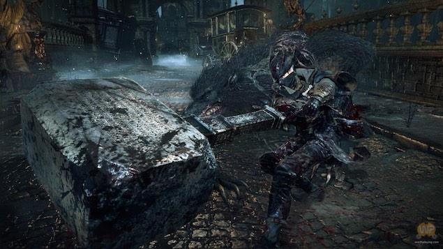 hammer_bloodborne_ps4_sony.jpg - Is Bloodborne The PS4