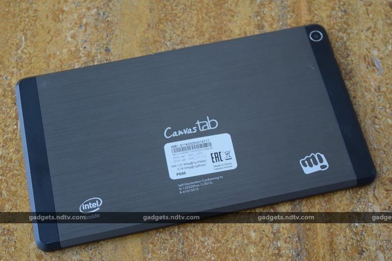 micromax_canvas_tab_p690_rear_ndtv.jpg - Micromax Canvas Tab P690 Review: Only For Entertainment