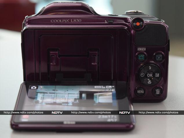 nikon_coolpix_l830_rear_ndtv.jpg - Nikon Coolpix L830 Review
