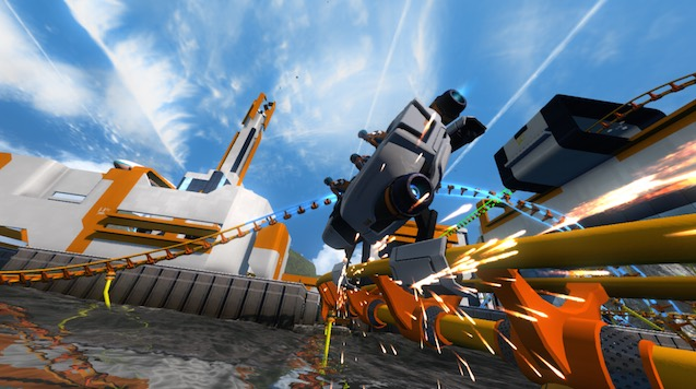 roller_coaster_wheelie_screamride_microsoft.jpg - ScreamRide Review