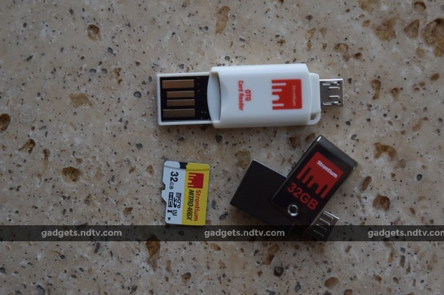 Strontium Nitro Plus On-The-Go USB 3.0 and Micro SDHC UHS-1 With OTG Card Reader Review