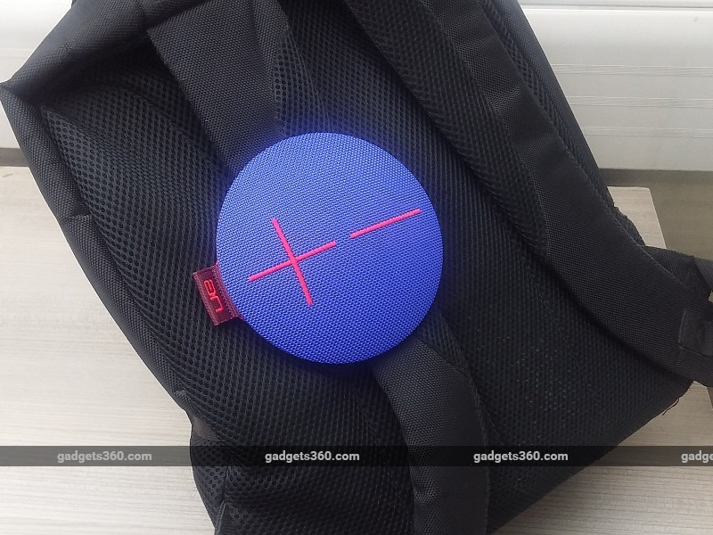ue_roll_on_bag_ndtv.jpg - Logitech UE Roll Review