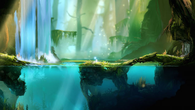 waterfall_ori_and_the_blind_forest_moon_studios