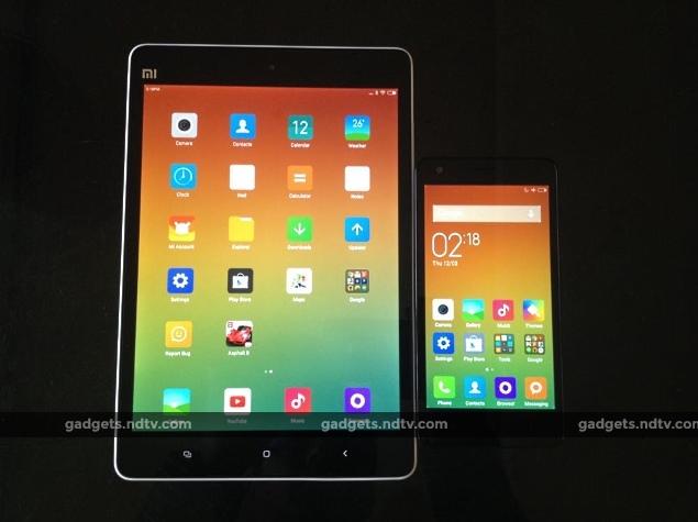 Xiaomi Redmi 2 and Xiaomi MiPad: First Impressions